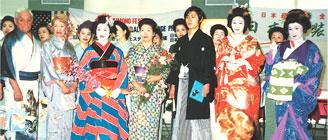 日米親善文化交流きものフェスティバル