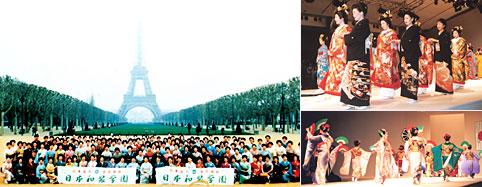日仏親善文化交流きものフェスティバル